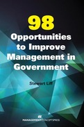 98 Opportunities to Improve Management in Government